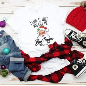 Santa Clause Big Poppa T-shirt